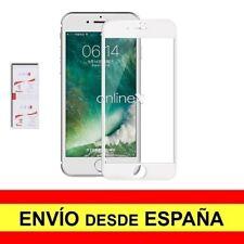 Cristal Templado 3D 5D IPHONE 7 - IPHONE 8  Protector CURVO BLANCO a3801 nt