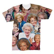 Betty White Photo Collage T-Shirt