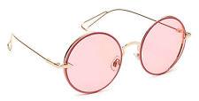 Round Vintage Sunglasses Mirror Flat Lens Retro Designer Metal Men Women Style