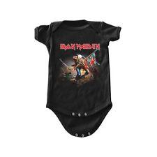 Iron Maiden The Trooper Infant Baby Heavy Metal Rock One Piece Romper IRM10095