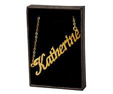 Nome Collana Katherine – 18k Placcato Oro | Regali Matrimonio Famiglia personalizzato