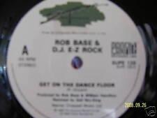 Rob Base & DJ E-Z Rock - Get on the dance floor    45´