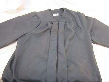Jostens Royal Black Graduation Gown/ Choir/ Clergy Robes Matte Finish 110512