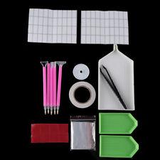 pintura kits Punto de cruz Diamantes de imitacion de cajas Bordados accesorios