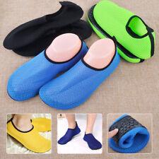Women Men Yoga Skin Flexible Pool Beach Aqua Water Mesh Barefoot Causal Shoes