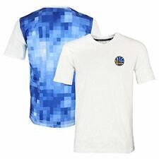 Zipway NBA Men's Golden State Warriors Pixel V-Neck Short Sleeve T-Shirt