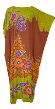 New JOHORE Amazing Floral Soft Kaftan Caftan Cool Long Ladies Summer Dress Plus