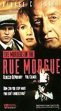 NEW VHS The Murders in the Rue Morgue:George C Scott Val Kilmer Rebecca DeMornay
