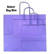 LILA Bolsas de papel de Regalo ~ Boutique Tienda Mochila ~ Escoge Tamaño