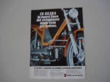 advertising Pubblicità 1978 GILERA CBA