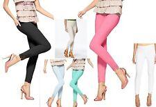 Hue Leggings Lace Trim Pique Skimmer Leggings  XS, S, M, L, XL