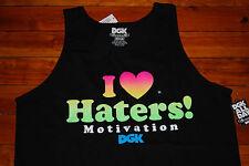 NEW Men's Dirty Ghetto Kids DGK Motivation Tank Top (Medium, X-Large)