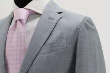 Blazer R63 hombres 2 botones de lana Tasmania art. Amalfi, sin forro gris perla