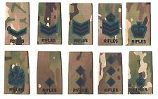 The Rifles Multicam Rank Slides Rifles Multicamo Rank Slides Rifles MTP Slide
