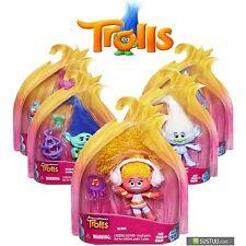 """Dream Works Trolls Niños Niñas Divertido Juguete Figura Coleccionable 4"""" vendedor Reino Unido # 1"""