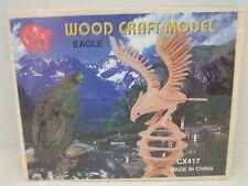 """""""Eagle"""" Wood Craft Model #CX417 NIB!"""