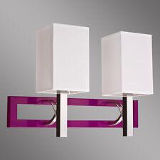 Wandlampe Wandleuchte NEU Raffa 2 Metall + Kunststoff für LEDs geeignet TOP