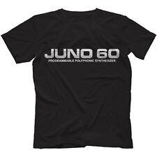 Juno - 60 Camiseta 100% algodón | Retro Sintetizador Analógico POLYSIX 106