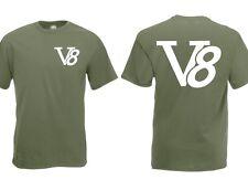 t-shirt v8 Big Block 8 Zylinder US car  T Shirt  bis 5 XL Funshirt