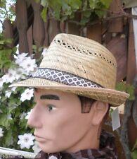Cappello Di Paglia Naturale Cappello Da Sole Cappello Raccolto Giardino Festa