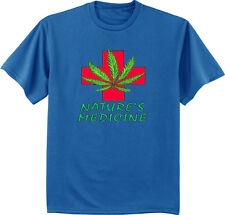 Men's t-shirt Medical Marijuana weed pot cannabis 420 legalize nature's medicine