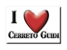 CALAMITA TOSCANA FRIDGE MAGNET MAGNETE SOUVENIR LOVE CERRETO GUIDI (FI)