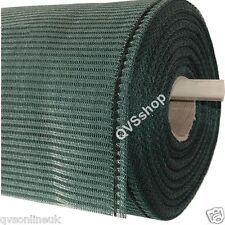 Green Heavy Duty SHADE & WINDBREAK NETTING 3ft, 4ft & 6ft High Greenhouse/Fence
