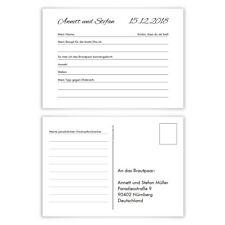 Hochzeitsspiel Fragerunde Postkarte Fragen Antworten - Schlicht Black and White