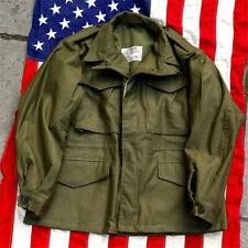 Reproduction WW2 US Military M43 Field Jacket WWII U.S. ARMY M1943 Tactics Coat