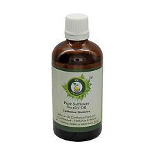R V Essential Pure Safflower Oil Carthamus Tinctorius 100% Natural Cold Pressed