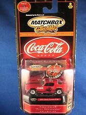 2000 Matchbox Collectibles Coca Cola 1971 Chevy Camaro