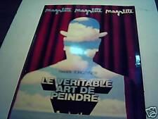 Harry TORCZYNER: Magritte le véritable art de peindre