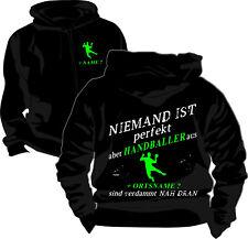 Handball Perfekt Motiv Kapuzensweatshirt Pullover Kapuzenjacke Bekleidung 4