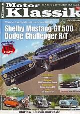 Motor Klassik 10/10 Shelby Mustang GT500/Dodge Challenger R/T/Citroen 11 CV/2010