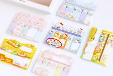 Dibujos animados Hello Kitty MEMO pegajoso nota Pad índice marcadores Etiqueta Auto Adhesivo