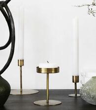 House Doctor Anit Kerzenständer Messing Gold Teelichthalter Kerzenhalter Deko