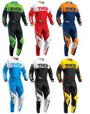 Thor Mens & Youth Phase Hyperion Dirt Bike Jersey & Pants Kit Combo MX ATV MTB