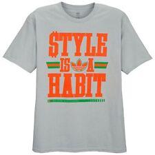 "Adidas Originals ""Style Is A Habit"" T-Shirt Men's Medium Large XL 2XL 3XL BNWT!"