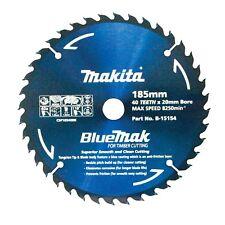 Makita BLUEMAK CIRCULAR SAW BLADE 40 Teeth Smooth & Clean Cutting-185mm or 235mm