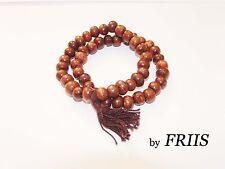 Armband by FRIIS *Mountain* Bracelet As is*2 Holz Ketten braun mit Anhänger *Neu