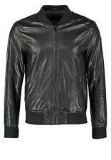 PROMOZIONE Giacca Giubbotto in di Pelle Uomo Men Leather Jacket Veste r45 TG 46