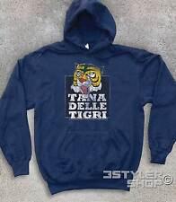Felpa UNISEX UOMO TIGRE TANA DELLE TIGRI antichizzata Tigerman Tiger Wrestling