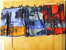 Badehose Badeshort Short Kurze Hose Bermuda Schwimmhose Palmen M-3XL Neu