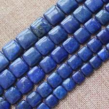 "Lapis Lazuli 12-20mm Square Loose Beads 15"""