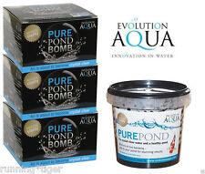 EA Evolution Aqua Pure Pond Bomb EA Pure Pond Balls for Pond Water Clarity