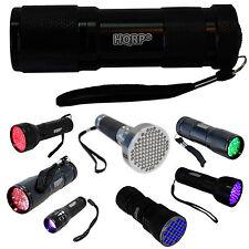 LED Flashlight / Blacklight for Astronomy Night Vision Inspection Detection etc