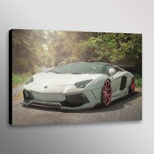 Lamborghini Aventador Libert Walk Car Photo Automotive Wall Art Canvas Print
