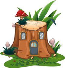 Tree House Wall Sticker Fairy tale Disney Wall Decal Bedroom Nursery Decor