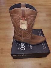 Men's Wrangler Tex Hi Brown Cowboy Boots Sizes 7, 8, 9, 10, 11 & 12