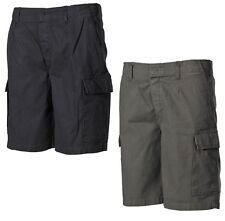 MFH Pantalones cortos Bermudas de hombre militar Piel topo BW stonewashed 01453